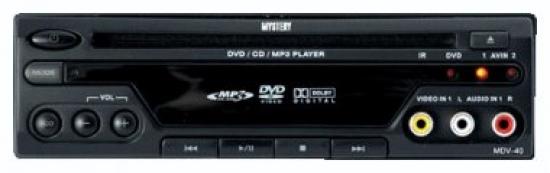 A/м DVD плеер Mystery MDV-40