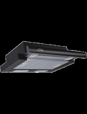 Вытяжка ELIKOR Интегра 50П-400-В2Л черный/черн