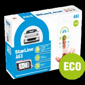 Сигнализация STAR LINE A63 ECO