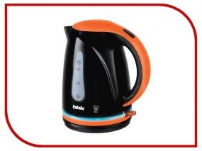 Чайник BBK EK1701P черный/оранжевый