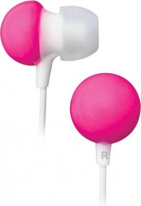 Наушники BBK EP-1140S белый/розовый