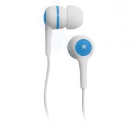 Наушники BBK EP-1170S белый/голубой