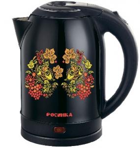 Чайник РОСИНКА РОС-1007 нержавейка хохлома