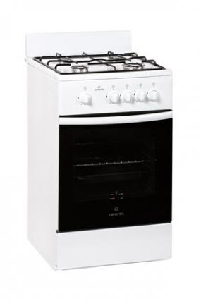 Газовая плита Greta 1470-00 исп.12 бел (щиток)