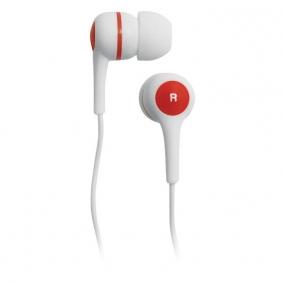 Наушники BBK EP-1260S белый/красный
