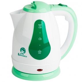 Чайник Василиса Т3-1500 Белый с Зелёным